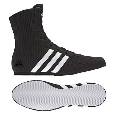 Adidas 2017 Box Hog Boxing Boots Black/White
