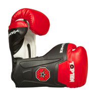 Top Ten Line Boxing Gloves Black/Red