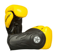 Top Ten Hero Boxing Gloves Black/Yellow