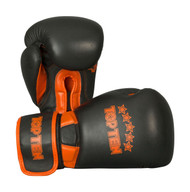 Top Ten Elite Dual Boxing Gloves Black/Orange 12oz