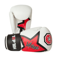 Top Ten Vikings Boxing Gloves White