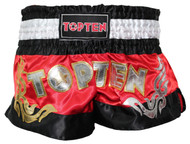 Top Ten WAKO Kickboxing Shorts Red