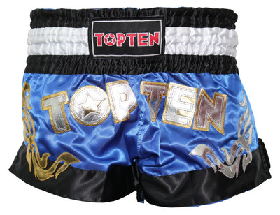 Top Ten WAKO Kickboxing Shorts Blue