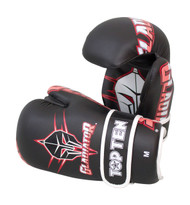 Top Ten Gladiator Point Fighter Gloves Black/Red