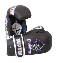 Top Ten Gladiator Point Fighter Gloves Black/Blue