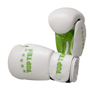 Top Ten R2M 2016 Boxing Gloves 10oz White/Green
