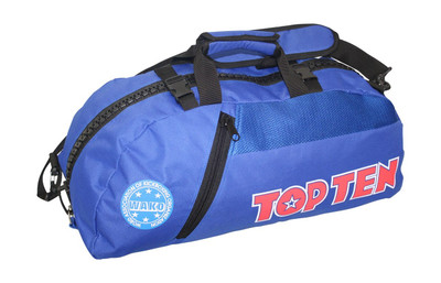 Top Ten WAKO Convertible Sports Bag/Backpack Blue/Black