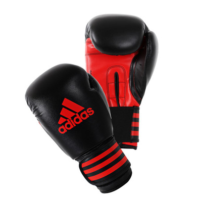 Adidas Power 100 Boxing Gloves Black/Red