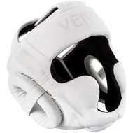 Venum Elite Head Guard White/White