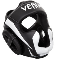 Venum Elite Head Guard Black/White