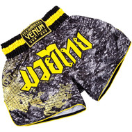Venum Tramo Muay Thai Shorts Black/Yellow