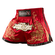 Hayabusa Premium Mens Muay Thai Shorts Red