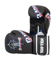 Top Ten Gladiator Boxing Gloves Black/Blue