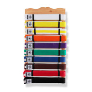Bytomic 10 Level Wood Belt Display Rack