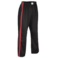 Bytomic Kids Double Stripe Contact Pant Black/Red