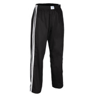 Bytomic Kids Double Stripe Contact Pant Black/White