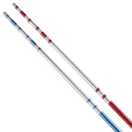 Bytomic Striped Chome Competition Bo Staff