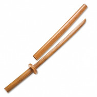 Bytomic Wood Bokken with Scabbard Youth