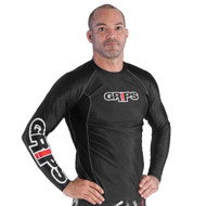 Grips Athletics Armadura Long Sleeve Mens Rash Guard