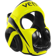 Venum Elite Neon Head Guard Yellow