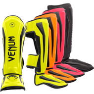 Venum Elite Neon Thai Shin Guards