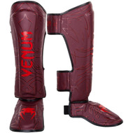 Venum Nightcrawler Shin Guards Red