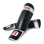 Sandee Sport Slim Shinguard Black/White