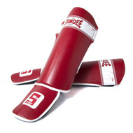 Sandee Sport Slim Shinguard Red