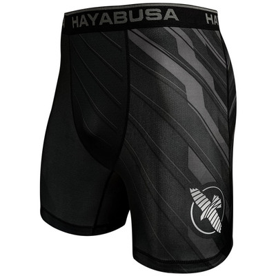Hayabusa Metaru Charged Compression Shorts Black