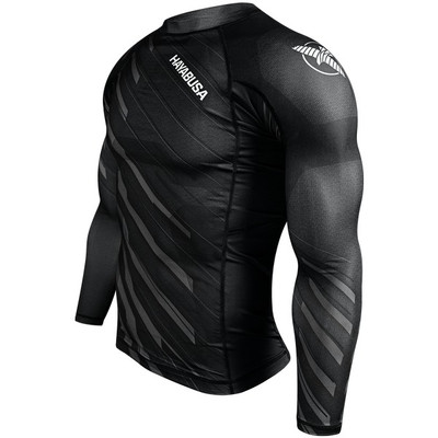 Hayabusa Metaru Charged Long Sleeve Rashguard Black