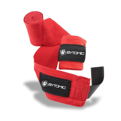 Bytomic Heavy Duty Hand Wraps Red
