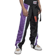 Top Ten Kids Mesh KB Pants Black/Purple