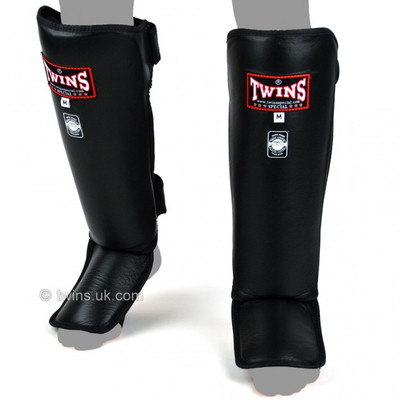 Twins SGL-3 Slim Padded Leather Shin Pads