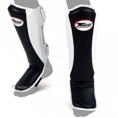 Twins SGMC8 Super Slim Leather Shin Pads
