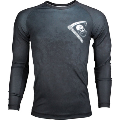 Scramble Strong Beard Long Sleeve Rashguard