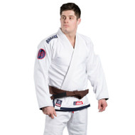 Scramble The Athlete 3 BJJ Gi White