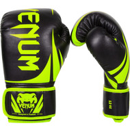 Venum Neon Challenger 2.0 Boxing Gloves Black/Yellow
