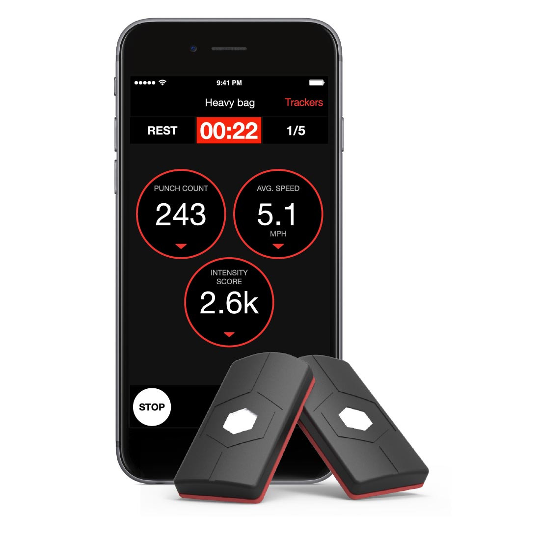 HYKSO Punch Trackers Boxing Training App