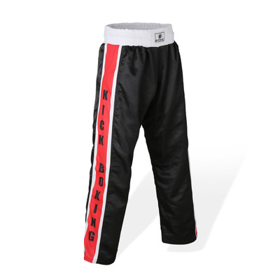 Bytomic Mesh Kickboxing Pants Black/Red