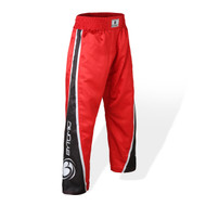 Bytomic Kids V3 Team Kickboxing Pants Red/Black