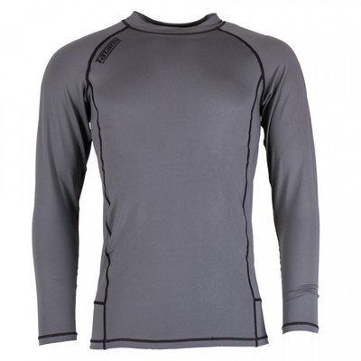 Tatami Fightwear Nova Basic Long Sleeve Rash Guard Grey