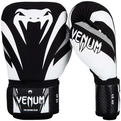 Venum Impact Boxing Gloves Black/White