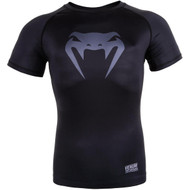 Venum Contender 3.0 S/S Compression T-Shirt Black/Grey