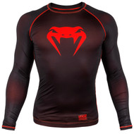 Venum Contender 3.0 L/S Compression T-Shirt Black/Red