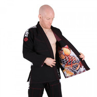 Tatami Fightwear Japan Series Maple Koi BJJ Gi Black