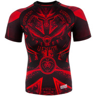 Venum Gladiator 3.0 Short Sleeve Rash Guard Black/Red