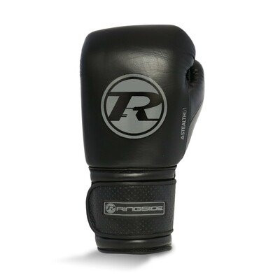 Ringside Stealth Leather Boxing Gloves Black