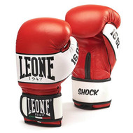 Leone 1947 Shock Boxing Gloves Red 12oz