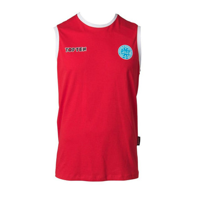 Top Ten WAKO Sleeveless T-Shirt Red