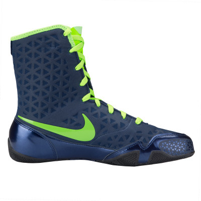 Nike KO Boxing Boots Navy/Green